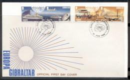 Gibraltar 1988 Europa Transport & Communication FDC - Gibraltar