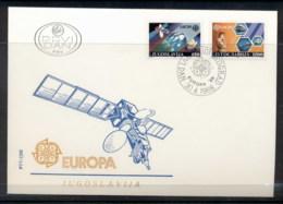 Yugoslavia 1988 Europa Transport & Communication FDC - FDC