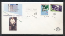 Nederland 1988 Europa Transport & Communication FDC - FDC