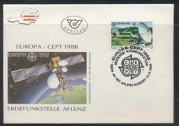 Austria 1988 Europa Transport & Communication FDC - FDC