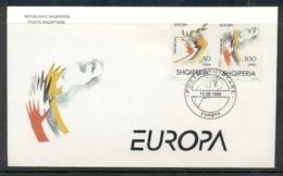 Albania 1995 Europa Peace & Freedom FDC - Albania