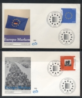 Germany 1995 Europa Peace & Freedom 2x FDC - [7] Federal Republic