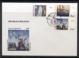 Moldova 1995 Europa Peace & Freedom FDC - Moldova