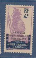 GABON    N°  YVERT  :  90            NEUF AVEC  CHARNIERES      ( Ch  2/08  ) - Unused Stamps