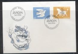 Switzerland 1995 Europa Peace & Freedom FDC - FDC