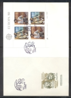 Portugal 1980 Europa Celebrities XLMS FDC - FDC