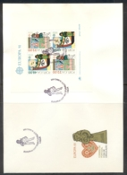 Portugal 1981 Europa Folklore XLMS FDC - FDC