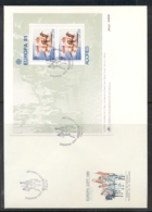 Azores 1981 Europa Folklore XLMS FDC - Azores