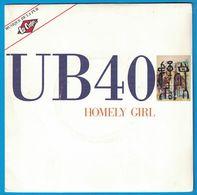 DISQUE 45 TOURS PUBLICITAIRE MUSIQUE DE LA PUB LEE COOPER UB 40 HOMELY GIRL - Vinyl Records