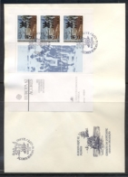 Azores 1982 Europa History XLMS FDC - Azores