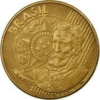 Monnaie, Brésil, 25 Centavos, 2007, TTB, Bronze Plated Steel, KM:650 - Brazil