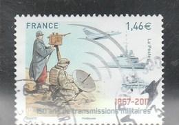 FRANCE 2017 - 150 ANS DE TRANSMISSIONS MILITAIRES OBLITERE YT 5172 - Oblitérés