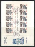 Monaco 1988 Europa Transport & Communication XLMS FDC - FDC