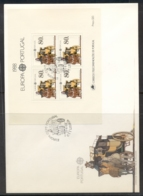 Portugal 1988 Europa Transport & Communication XLMS FDC - FDC