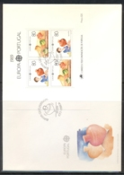 Portugal 1989 Europa Children's Play XLMS FDC - FDC