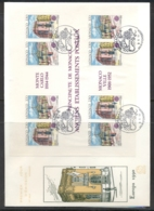 Monaco 1990 Europa Post Offices XLMS FDC - FDC