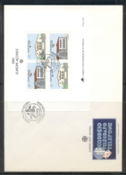 Azores 1990 Europa Post Offices XLMS FDC - Azores