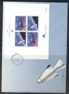 Azores 1991 Europa Man In Space XLMS FDC - Azores