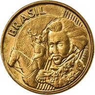 Monnaie, Brésil, 10 Centavos, 2013, TTB, Bronze Plated Steel, KM:649.2 - Brésil