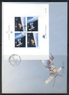 Madeira 1991 Europa Man In Space XLMS FDC - Madeira