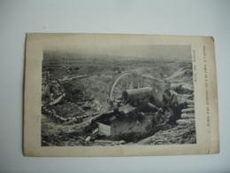 Guerre 14.18  Tombe Artilleur Tue A Sa Piece A Laffaux - Guerra 1914-18