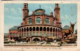 41lt 219 CPA - PARIS - LE PALAIS DU TROCADERO - France