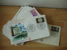 Lot 41 Fdc Enveloppe 1 Er Jour France Annees 60 - 1960-1969