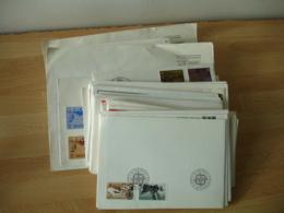 Lot 94 Fdc Enveloppe 1 Er Jour  Theme Europa Annees 80 Pays Europeens - Europa-CEPT