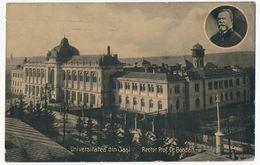 CPA - JASI (Roumanie) - Université De Jasi - Recteur Prof. Dr Bogdan - Roumanie