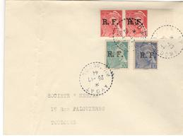 15731 - Libération AYDAT - Poststempel (Briefe)
