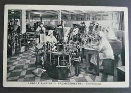 Lons Le Saunier Fromagerie BEL - Vache Qui Rit - L'enveloppage  ( Jura 39) - Lons Le Saunier