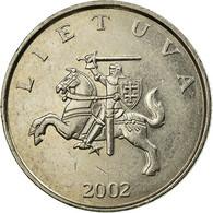Monnaie, Lithuania, Litas, 2002, TTB, Copper-nickel, KM:111 - Lithuania