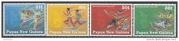 PAPUA NEW GUINEA, 1991 S.PAC GAMES 4 MNH - Papua Nuova Guinea