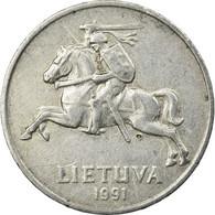 Monnaie, Lithuania, 2 Centai, 1991, TB+, Aluminium, KM:86 - Lituanie