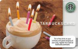 Starbucks Card / Gift Card (No Actual Cash Value) - Gift Cards