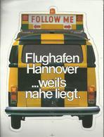 Autocollant - Flughafen Hannover - Aéroport D'Hanovre - Aufkleber