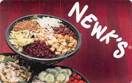Newk's Express Cafe Restaurants Gift Card - 5 Lines Text Top Reverse - Gift Cards