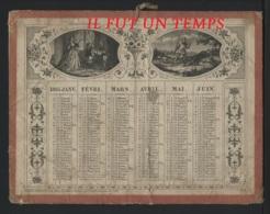 CALENDRIER DE 1865 - SUPERBE - Calendars