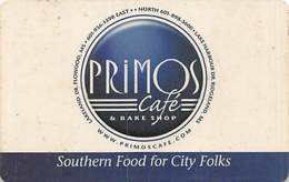 Priomos Cafe & Bake Shop - Ridgeland, MS - Gift Card (slightly Dirty/used) - Gift Cards