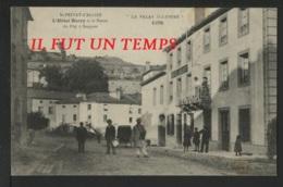 43 SAINT PRIVAT D'ALLIER - L'Hôtel BARRY Et La Route Du Puy à SAUGUES - RARE - Other Municipalities
