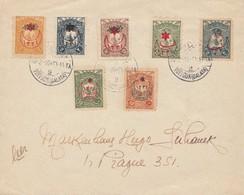 Türkei: 1916: Brief Nach Prag - Turkey
