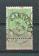 83 Gestempeld SANTVLIET - COBA 15 Euro - 1893-1907 Coat Of Arms