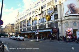 """Paris IX (75)- Grands Magasins Du Printemps-Station De Métro """"Havre-Caumartin"""" (Edition à Tirage Limité) - District 09"""