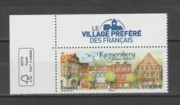 FRANCE / 2018 / Y&T N° 5243 ** : Kaysersberg (+ Vignette Village Préféré Des Français) CdF FSC - Gomme Intacte - Frankreich