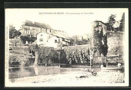 CPA Sauveterre-de-Bearn, Vue Pittoresque Du Vieux Pont - Sauveterre De Bearn