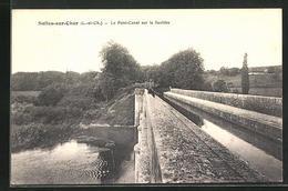 CPA Selles-sur-Cher, Le Pont-Canal Sur La Sauldre - Selles Sur Cher