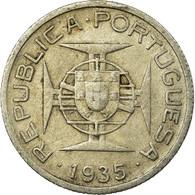 Monnaie, Mozambique, 2-1/2 Escudos, 1935, TB+, Argent, KM:61 - Mosambik