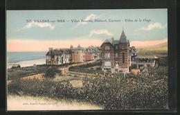 CPA Villers-sur-Mer, Villas Sozette, Philbert, Carmen, Villas De La Plage - Villers Sur Mer