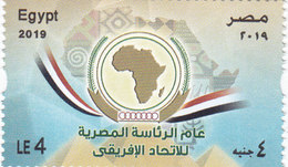 Egypt New Isue 2019, Egyt Head Of African Nations 1v.complete Set MNH-   SKRILL PAYMENT ONLY - Egypt