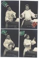 Fantaisie - Série Complète De 10 CPA - Mes Chers Frères - Années 1900 - Fantaisies